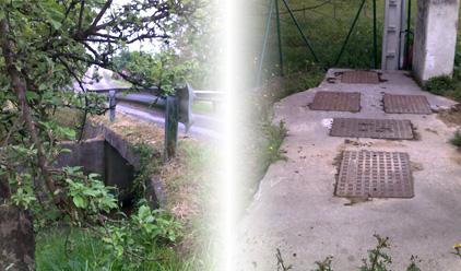 Proyectos de saneamiento en el Valle de Asúa